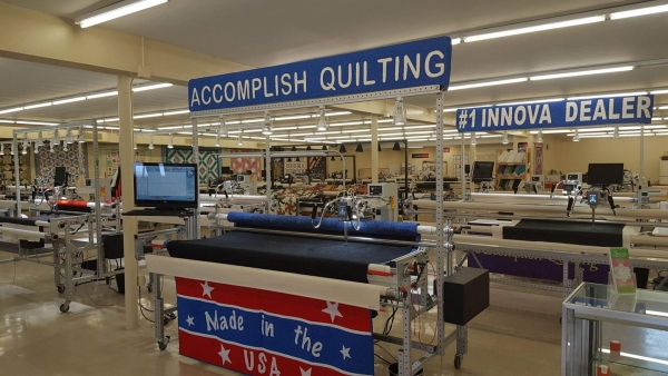 Accomplish Quilting Training Center - North
